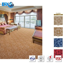 home, hotel printed 100% polyester shaggy carpet