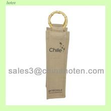 One Bottle Jute Wine packaging Bags