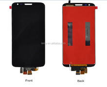 2015 mobile phone lcd display for lg g2 LCD touch screen display original parts