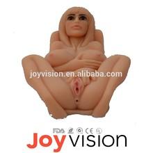 2015 Hot Sale más reciente Vagina juguetes sexuales para hombres muñeca inflable