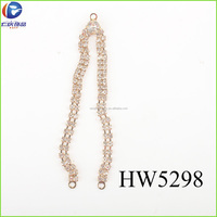 The gold chain for women underwear ornament and hip hop jeans chain