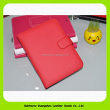 15045 In stock colorful wallet pu leather phone case for ipad mini