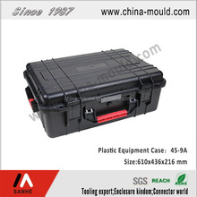 ABS plastic equipment case with handle