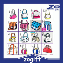 ZOGIFT Women New Arrival Unisex Handbags 3D Stereo Comic Package Cartoon Bag Red Yellow Colours Shoulder Bags