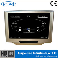 Hot Selling Bracket 10.1 inch touch screen car dvd player Back Seat monitor Built in IR/FM/Speaker