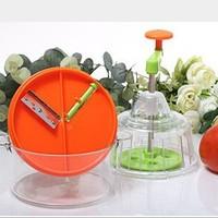 Multi Hand Food Processor Vegetable Fruit Chopper Slicer Grater Shredder Cutter
