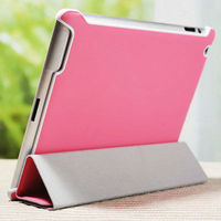 2015 Wholesale China New Custom natural genuine leather stand cover for ipad 3,unique design cool case for ipad 3