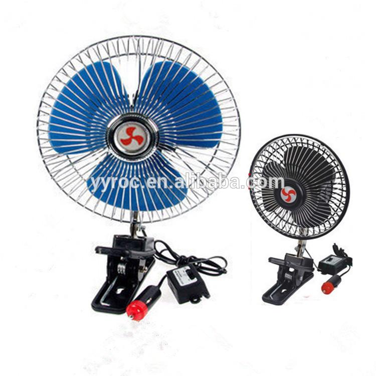 mini ventilateur oscillant 8 pour la voiture 6 10. Black Bedroom Furniture Sets. Home Design Ideas