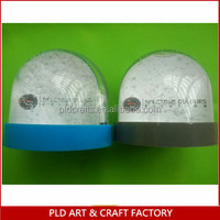 Small promotional plastic globes