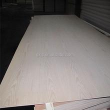 3.6mm natural ash faced plywood, ash veneer fancy plywood