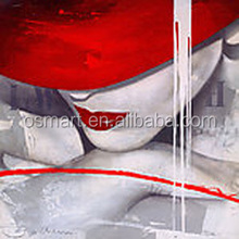 Best selling products girls pictures sexy original photo sex Hand Painted Canvas Oil Painting for wall Decoration