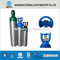 de aluminio de la botella de gas de alta presión de oxígeno de la botella de aluminio de la botella de oxígeno