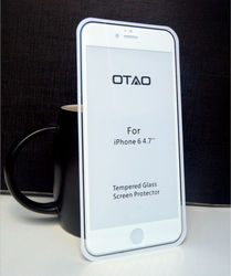 most famous Fulljion water-proof new design 0.15MM tempered glass full cover guard from OTAO(California) brand