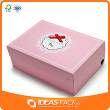 Fashion style gift paper packaging box