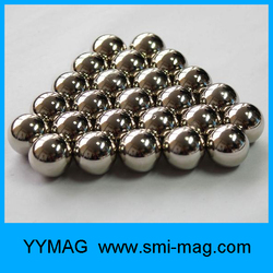 Two type magnet for kids toy ball