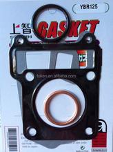 YBR125 Motorcycle Cylinder Head Gasket and Cylinder Block Gasket