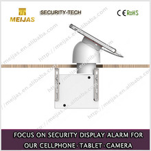 magnetic mobile phone security sensor holder for furniture counter rack