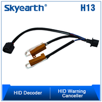 hid xenon light warning canceller H13 H/L partes para autos