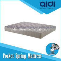 Any Home Furniture King Koil Pocket Spring Dunlop Latex Free Foam Mattress AC-1411