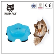 pet dog cat food water dish bowl