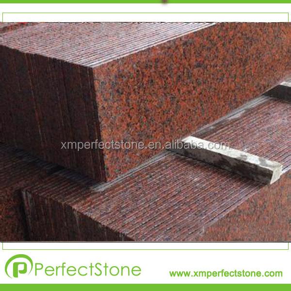Controsoffitti di pietra granito rosso acero foglia materiali ...
