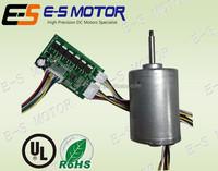 42mm brushless DC motor, 24V 50 Watt