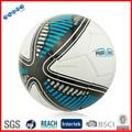 tpu cosido a máquina de fútbol azul bola de fútbol