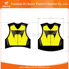 Custom design high quality reflective vest motorcycle