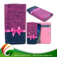 Nice Quality Oem Service Wallet Leather Flip Case Cover For Iphone 5C