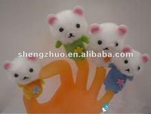 cute mini children's animal finger puppet plush finger puppets