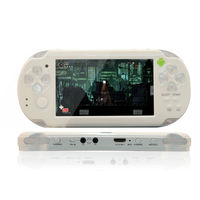 """High quality factory price 4.3"""" android4.0 smart mp3 mp4 mp5 player wifi game console for psp"""