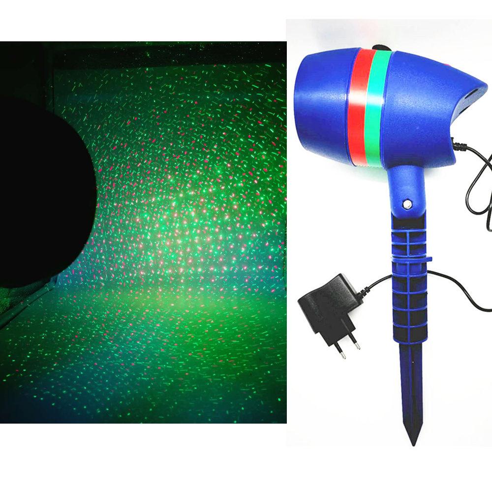 2 modi led di illuminazione laser laser e la festa illuminazione per il Natale Come visto in TV stella doccia laser luce