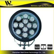 120W super powre round led work light with ring