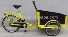 2015 cargo tricycle for family cycling/Hot sale 3 wheel family bike,cargo bicycle