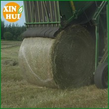 Hdpe Raschel Knitted Round Bale Net Wrap , Agriculture Hay Bale Net