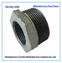 Galvanized malleable iron pipe fitting bushing M&F