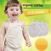 2015 new arrival free sample organic cotton newborn baby Chinese-style chest covering