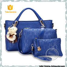 Korean New Style Ladies Handbags,Fashion Latest Ladies gifts Handbags with small bag