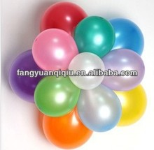 10inch 1.8g metallic latex balloons decoration for birthday