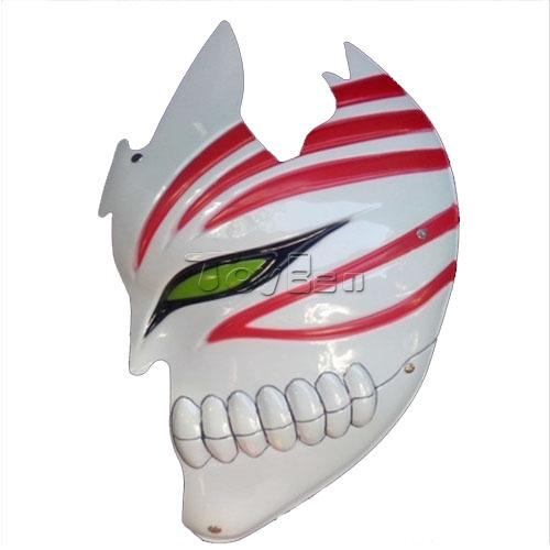 Hot Anime Bleach Cosplay Half Face Mask Bleach Kurosaki Ichigo Half Face Mask cool party mask