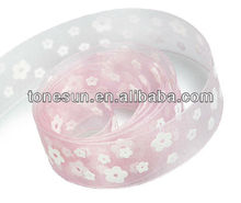 China Hot Lt. Pink Decoration Flower Bow Ribbon For Lovely Angle Girl Wholesale