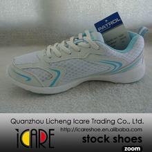 Blanco y Azul Calzados Zapatos Deportivos para Correr