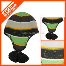 wholesale winter knit ear flap hats
