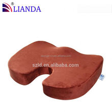 coccyx foam seat cushion in office or car,pu foam car seat cushion,foam floating cushion