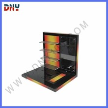 4 floors black acrylic virtual display glasses with backboard picture