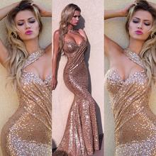 Hot sale new design backless evening dress