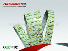 Two line LED strip IP55 SMD3528 240 leds/m 8mm width