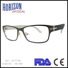 fancy eyeglass changeable temple eyeglasses frame