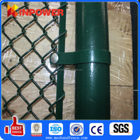 Plastic Chain Link Fencing Fabric