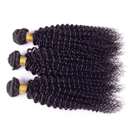 Free shipping 16 inch 3pcs 7a new products bohemian kinky curly hair